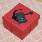 「神戸苺トリュフ」のパッケージ