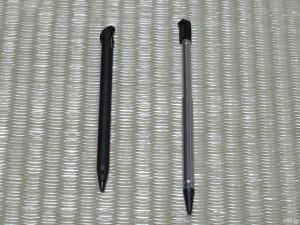 「Newニンテンドー3DS LL」と「ニンテンドー3DS」に付属するタッチペン