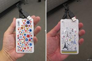 スマートフォン充電器(mini labo)
