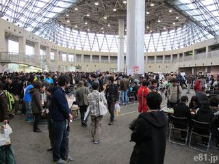 「ゲームマーケット2015大阪」の会場内