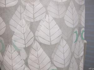 ベルメゾンネットの「オパールのボイルカーテン・2枚」のアップ