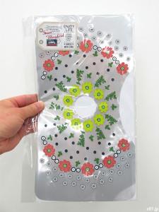 「フェリシモ」の「花咲く水辺のおもてなし 取り換えるだけお掃除 トイレの手洗いタンクシートの会」