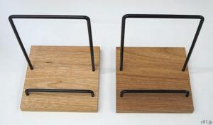 「フェリシモ」で販売中の「家具職人が手づくり 木とスチールのディスプレイスタンド」