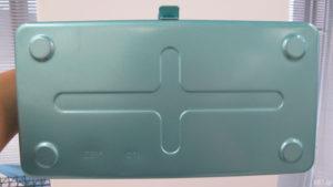 「フェリシモ」で販売中の「老舗工場で作られる レトロなスチール工具箱」