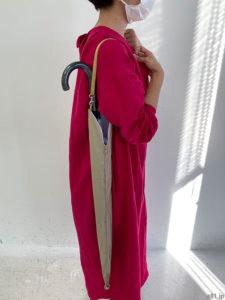 「フェリシモ」の「水分を吸収しながらスマートIN! 隣の人も自分もぬれない スリム傘袋の会」